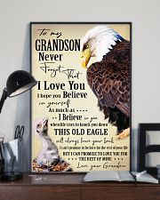 I BELIEVE IN YOU - SPECIAL GIFT FOR GRANDSON 11x17 Poster lifestyle-poster-2