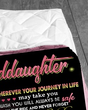 "YOUR WAY BACK HOME - BEST GIFT FOR GRANDDAUGHTER Quilt 50""x60"" - Throw aos-quilt-50x60-lifestyle-closeup-front-07"