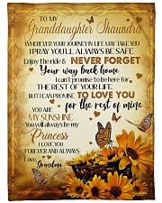 MY SUNSHINE - BEST GIFT FOR GRANDDAUGHTER SHAUNDRA Fleece Blanket tile