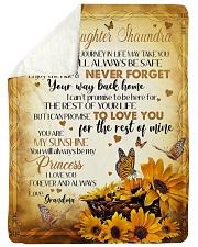 MY SUNSHINE - BEST GIFT FOR GRANDDAUGHTER SHAUNDRA Sherpa Fleece Blanket tile