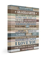 I LOVE YOU - PERFECT GIFT FOR GRANDDAUGHTER 11x14 Gallery Wrapped Canvas Prints front