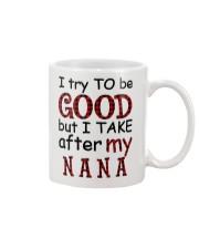 TRY TO BE GOOD -  GIFT FOR GRANDKIDS Mug tile