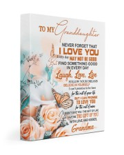 FOLLOW YOUR DREAM - GIFT FOR GRANDDAUGHTER 11x14 Gallery Wrapped Canvas Prints front