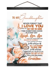 FOLLOW YOUR DREAM - GIFT FOR GRANDDAUGHTER Hanging Canvas tile