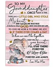 KEEP ME IN YOUR HEART - GRANDMA TO GRANDDAUGHTER 11x17 Poster front