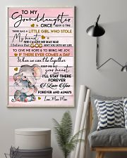 KEEP ME IN YOUR HEART - GRANDMA TO GRANDDAUGHTER 11x17 Poster lifestyle-poster-1