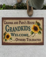"""WELCOME OTHERS TOLERATED -PERFECT GIFT FOR GRANDMA Doormat 22.5"""" x 15""""  aos-doormat-22-5x15-lifestyle-front-01"""