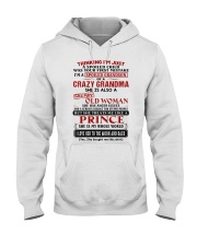 SHE IS MY WHOLE WORLD - BEST GIFT FOR GRANDSON Hooded Sweatshirt tile