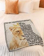 """IF FATE WHISPERS TO YOU - GRANDMA TO GRANDDAUGHTER Small Fleece Blanket - 30"""" x 40"""" aos-coral-fleece-blanket-30x40-lifestyle-front-01"""