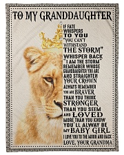 """IF FATE WHISPERS TO YOU - GRANDMA TO GRANDDAUGHTER Small Fleece Blanket - 30"""" x 40"""" front"""