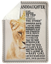 """IF FATE WHISPERS TO YOU - GRANDMA TO GRANDDAUGHTER Large Sherpa Fleece Blanket - 60"""" x 80"""" thumbnail"""
