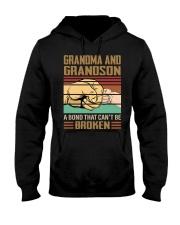 BOND CAN'T BE BROKEN - GIFT FOR GRANDMA GRANDSON  Hooded Sweatshirt tile