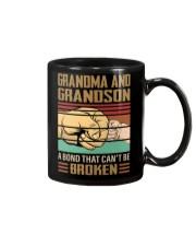 BOND CAN'T BE BROKEN - GIFT FOR GRANDMA GRANDSON  Mug tile