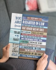 YOU ARE APPRECIATED-BEST GIFT FOR DAUGHTER-IN-LAW 11x14 Gallery Wrapped Canvas Prints aos-canvas-pgw-11x14-lifestyle-front-25