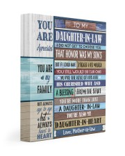 YOU ARE APPRECIATED-BEST GIFT FOR DAUGHTER-IN-LAW 11x14 Gallery Wrapped Canvas Prints front