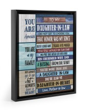 YOU ARE APPRECIATED-BEST GIFT FOR DAUGHTER-IN-LAW 11x14 Black Floating Framed Canvas Prints thumbnail