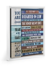 YOU ARE APPRECIATED-BEST GIFT FOR DAUGHTER-IN-LAW 11x14 White Floating Framed Canvas Prints thumbnail