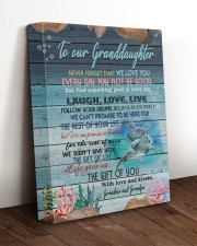 WE LOVE YOU - GREAT GIFT FOR GRANDDAUGHTER 11x14 Gallery Wrapped Canvas Prints aos-canvas-pgw-11x14-lifestyle-front-17