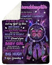 """IT IS FULL OF LOVE - BEST GIFT FOR GRANDDAUGHTER Large Sherpa Fleece Blanket - 60"""" x 80"""" thumbnail"""