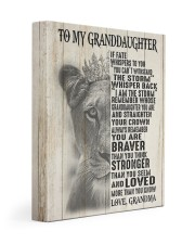 STRAIGTHEN YOUR CROWN GIFT FOR GRANDDAUGHTER 11x14 Gallery Wrapped Canvas Prints front