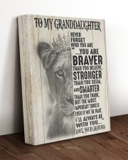 NEVER FORGET WHO YOU ARE -GRANDMA TO GRANDDAUGHTER 11x14 Gallery Wrapped Canvas Prints aos-canvas-pgw-11x14-lifestyle-front-17