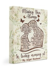 I MISS YOUR EVERYTHING 11x14 Gallery Wrapped Canvas Prints front