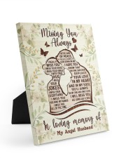 I MISS YOUR EVERYTHING Easel-Back Gallery Wrapped Canvas tile