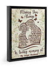 I MISS YOUR EVERYTHING 11x14 Black Floating Framed Canvas Prints thumbnail