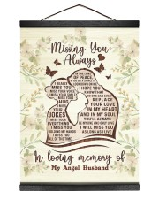 I MISS YOUR EVERYTHING 12x16 Black Hanging Canvas thumbnail
