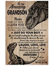 JUST DO YOUR BEST - PERFECT GIFT FOR GRANDSON 11x17 Poster front