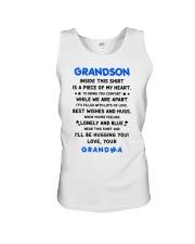 I'LL BE HUGGING YOU - BEST GIFT FOR GRANDSON Unisex Tank thumbnail