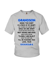 I'LL BE HUGGING YOU - BEST GIFT FOR GRANDSON Youth T-Shirt front