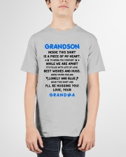 I'LL BE HUGGING YOU - BEST GIFT FOR GRANDSON Youth T-Shirt garment-youth-tshirt-front-01