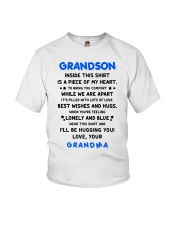 I'LL BE HUGGING YOU - BEST GIFT FOR GRANDSON Youth T-Shirt tile