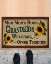 """WELCOME OTHERS TOLERATED - GREAT GIFT FOR MOM MOM Doormat 22.5"""" x 15""""  aos-doormat-22-5x15-lifestyle-front-10"""