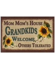 """WELCOME OTHERS TOLERATED - GREAT GIFT FOR MOM MOM Doormat 22.5"""" x 15""""  front"""