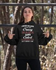 NEVER DREAMED - GIFT FOR GRANDKIDS FROM NANA Hooded Sweatshirt apparel-hooded-sweatshirt-lifestyle-05