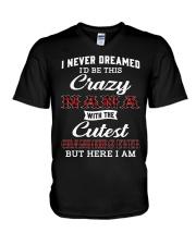 NEVER DREAMED - GIFT FOR GRANDKIDS FROM NANA V-Neck T-Shirt tile