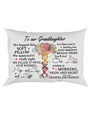 JUST HOLD IT REALLY TIGHT - GIFT FOR GRANDDAUGHTER Rectangular Pillowcase front