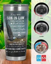 THE GIFT OF LIFE - GREAT GIFT FOR SON-IN-LAW 20oz Tumbler aos-20oz-tumbler-lifestyle-front-46