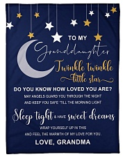 "TWINKLE TWINKLE - BEST GIFT FOR GRANDDAUGHTER Small Fleece Blanket - 30"" x 40"" front"
