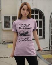 GRAM'S GREATEST MASTERPIECE FOR GRANDCHILDREN  Classic T-Shirt apparel-classic-tshirt-lifestyle-19