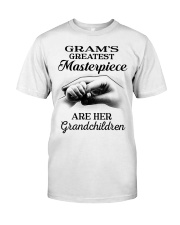 GRAM'S GREATEST MASTERPIECE FOR GRANDCHILDREN  Classic T-Shirt tile