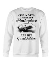 GRAM'S GREATEST MASTERPIECE FOR GRANDCHILDREN  Crewneck Sweatshirt tile