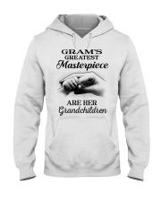 GRAM'S GREATEST MASTERPIECE FOR GRANDCHILDREN  Hooded Sweatshirt tile