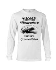 GRAM'S GREATEST MASTERPIECE FOR GRANDCHILDREN  Long Sleeve Tee tile