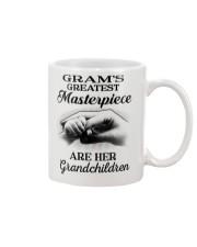 GRAM'S GREATEST MASTERPIECE FOR GRANDCHILDREN  Mug tile