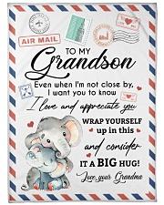 IT A BIG HUG - LOVELY GIFT FOR GRANDSON Fleece Blanket tile