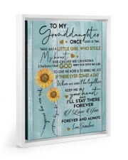 I LOVE YOU FOREVER - BEST GIFT FOR GRANDDAUGHTER 11x14 White Floating Framed Canvas Prints thumbnail