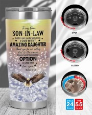 OPTION IS SOME DAYS - LOVELY GIFT FOR SON-IN-LAW 20oz Tumbler aos-20oz-tumbler-lifestyle-front-45